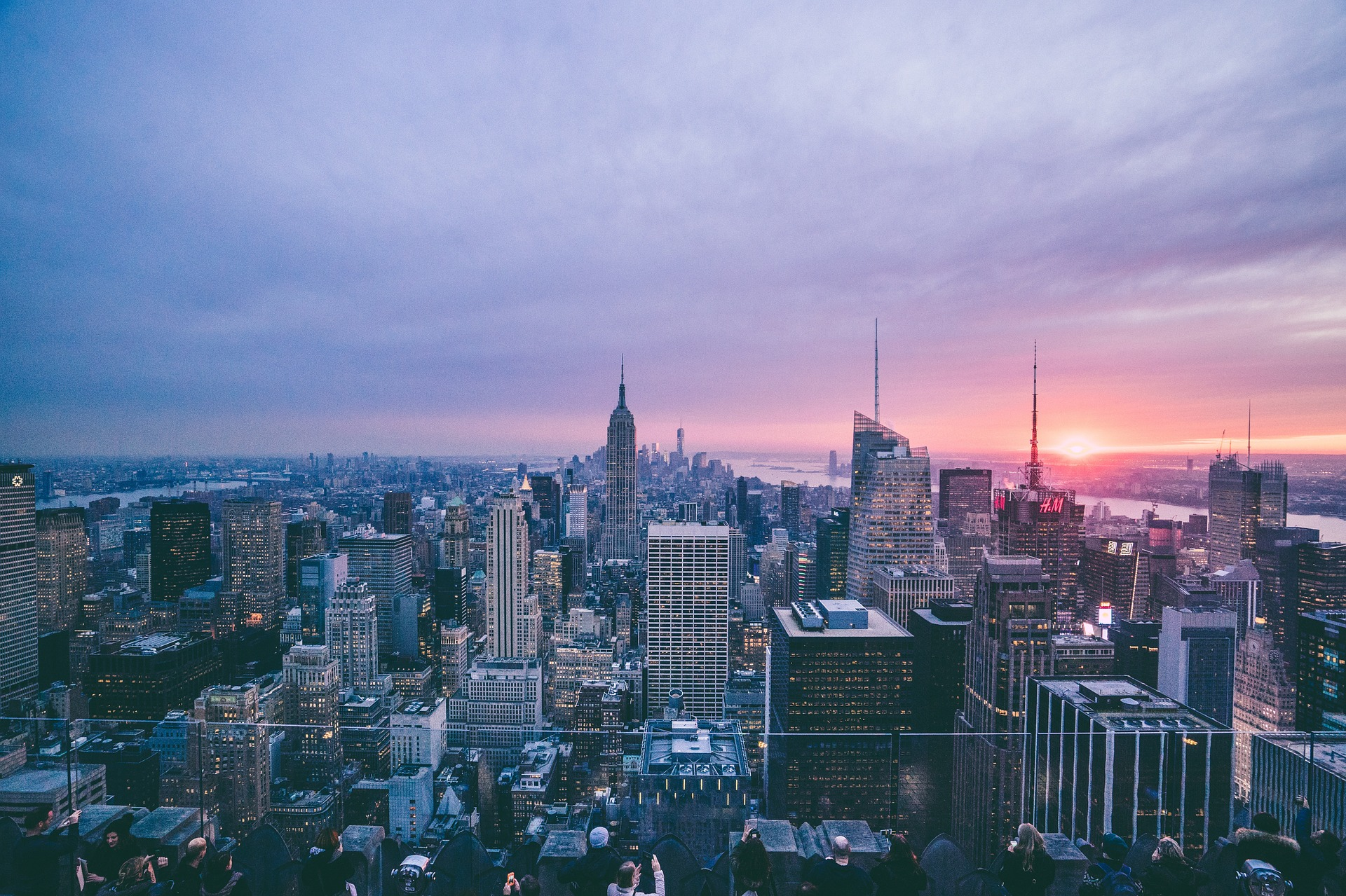Moving to New York as a senior