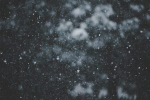 Snow in nature